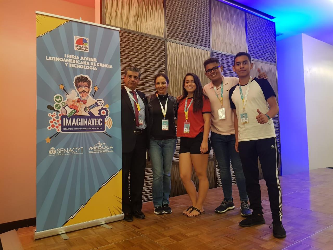 Delegación Ecuador. Foto cortesía: Luis Vargas