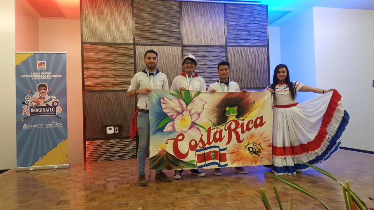 Delegación Costa Rica. Foto Cortesía Nathalie Valencia