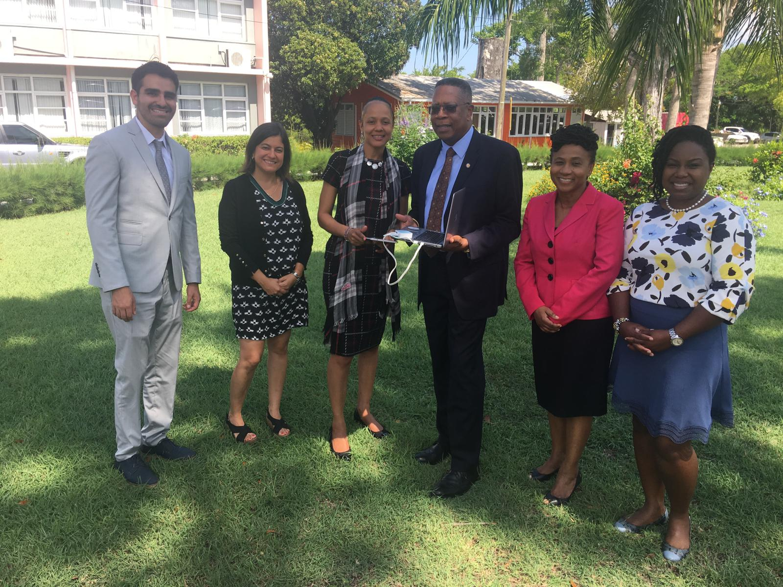 Launching of the ProFuturo Programme in Barbados