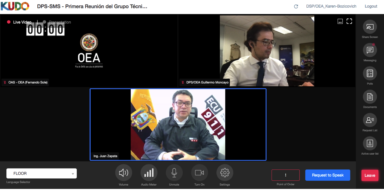 Clausura: Wilfrido Muñoz, Director Nacional de Comunicación, ECU-911, Ecuador