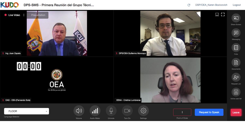 Panel 3: Cristina Lumbreras, Directora Técnica, EENA